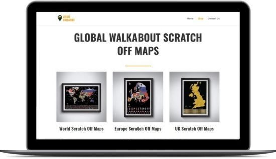 Global Walkabout Scratch Maps Future State Media Done For You Website Case Study