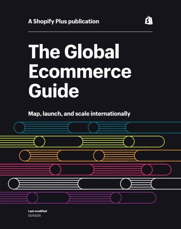 Shopify Global Ecommerce Playbook